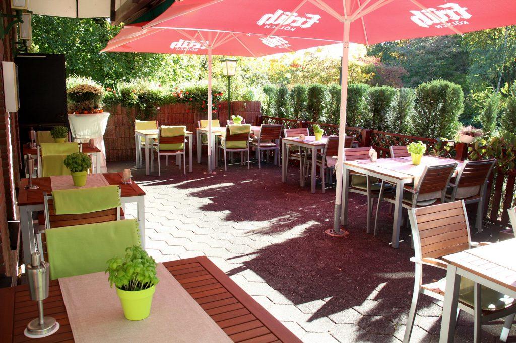 Terrasse Restaurant Am Park